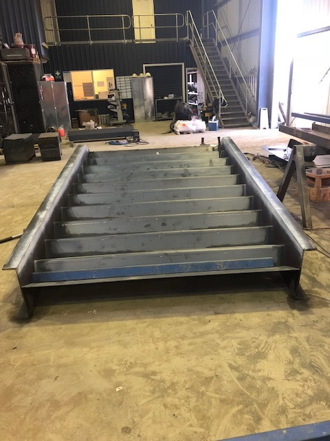 steel stair fabrication sydney